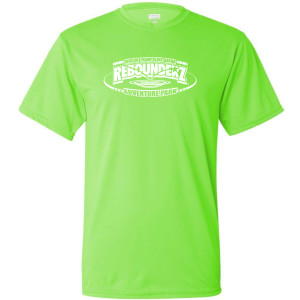 Staff Shirt in Lime Green