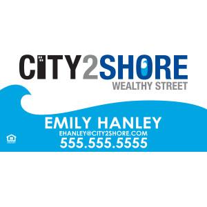 Real Estate - City2Shore - 12 x 24, magnet, vehicles, vehicle,