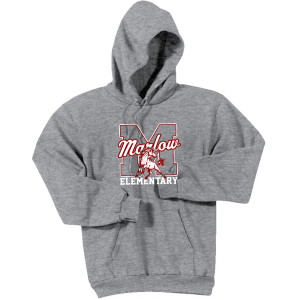 Adult Hoodie Ath Gray