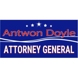 Big Campaign Sign, Political – 24 x 48 – Tags: elect, election, politics, attorney, general, attorney general, campaign