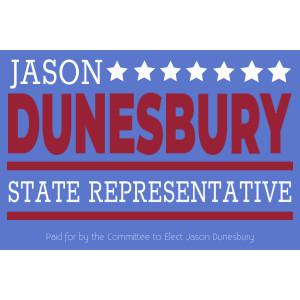 Big Campaign Sign, Political – 36 x 60 – Tags: elect, election, politics, state rep, state, state representative, representative, campaign