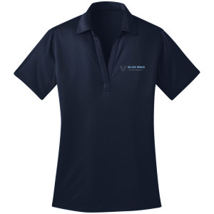 NAVY-PORT AUTHORITY® LADIES SILK TOUCH™ PERFORMANCE POLO