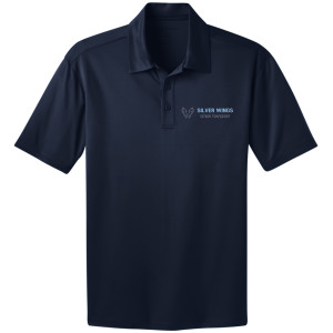 NAVY - PORT AUTHORITY® SILK TOUCH™ PERFORMANCE POLO