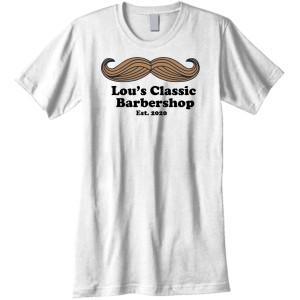 LOU'S Classic Barber Shop - T-Shirt Design