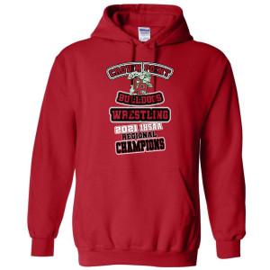 Adult IHSAA 2021 Wresting Sweatshirt