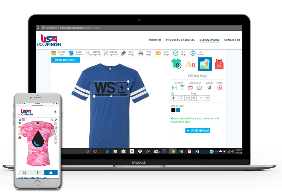 web to print software for print shops