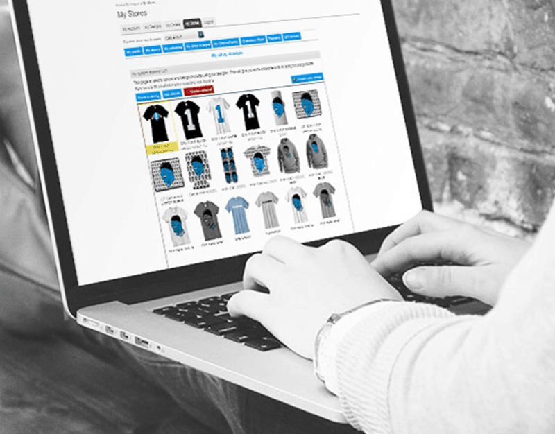 web to print stores